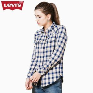 Levi's | Tailored Fit Western Plaid Button Up